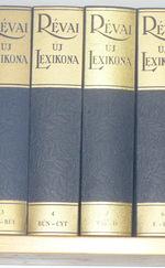 Révai Új Lexikona, 1-10. kötet, hasonmás kiadás