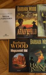 Barbara Wood könyvek - 5 kötet