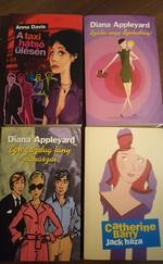 4 db regény, könyvcsomagban