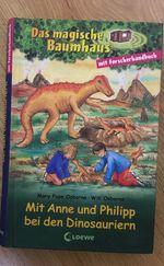 Mit Anne und Philipp bei dan Dinosauriern