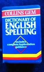 Dictionary of English spelling angol szótár