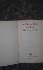 Petőfi Sándor összes költeménye
