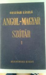 Angol-magyar szótár (I., II.)